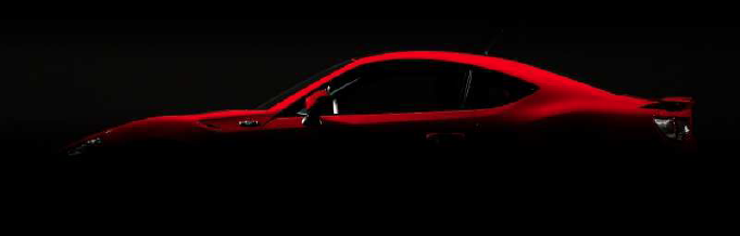 Toyota GT86 shadow