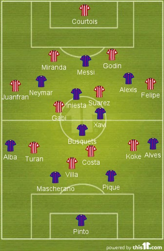 Barcellona - Atletico Madrid | 1 aprile 2014