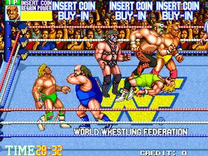 """4 di questi 6 lottatori sono morti. È """"WWF WrestleFest"""", un popolare videogame da sala giochi del 1991: la metà dei lottatori selezionabili dal giocatore sono morti (6/12)."""
