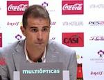 La conferenza stampa interrotta di Gaizka Garitano ad Almeria