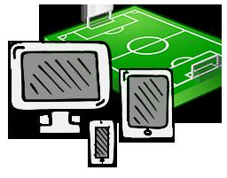Le partite di calcio in diretta streaming e in tv oggi