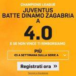 La vittoria della Juventus a quota 4.00