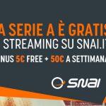 Su SNAI danno la Serie A in streaming