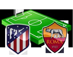 atletico madrid roma streaming