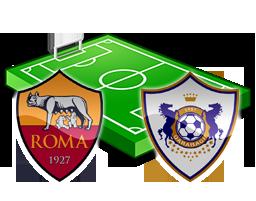 Roma Qarabag diretta streaming