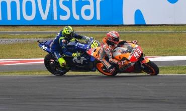 rossi marquez motogp argentina