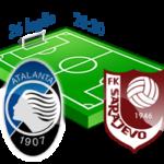 atalanta sarajevo diretta tv live streaming europa league