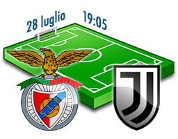 benfica juventus icc diretta tv live streaming