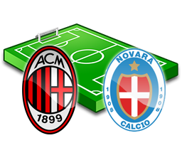 milan novara diretta tv streaming