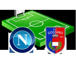 napoli gozzano diretta tv live streaming
