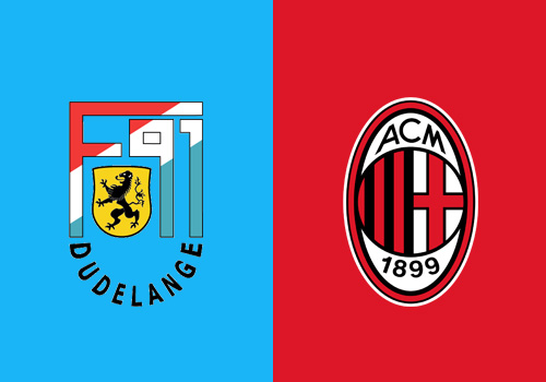 dudelange milan tv live streaming europa league