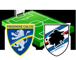 frosinone sampdoria diretta streaming live