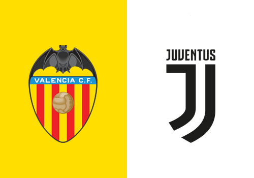 valencia juventus streaming tv champions league