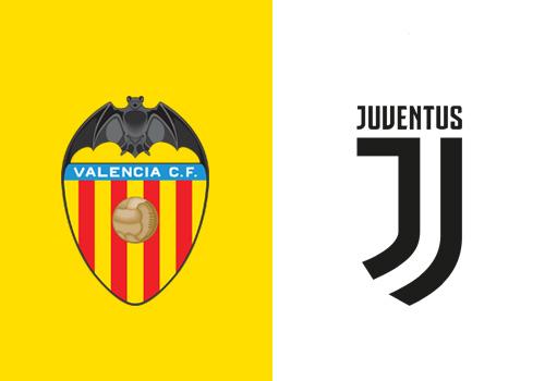 valencia juventus streaming tv champions league