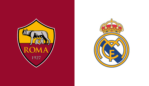 roma real madrid streaming