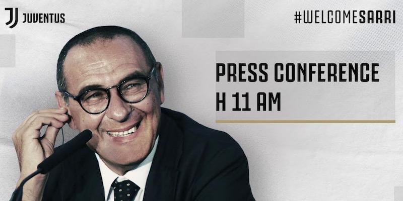 conferenza stampa sarri juventus