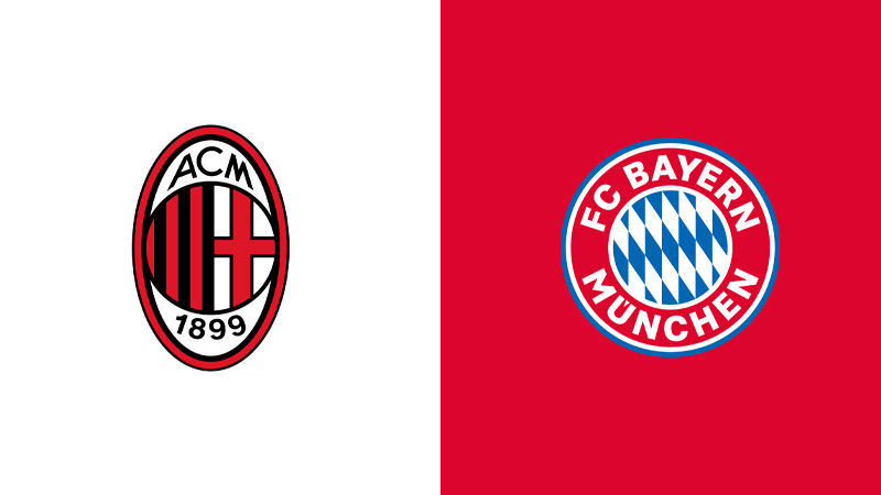 milan bayern monaco diretta tv live streaming