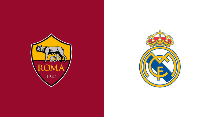 roma real madrid diretta tv live streaming