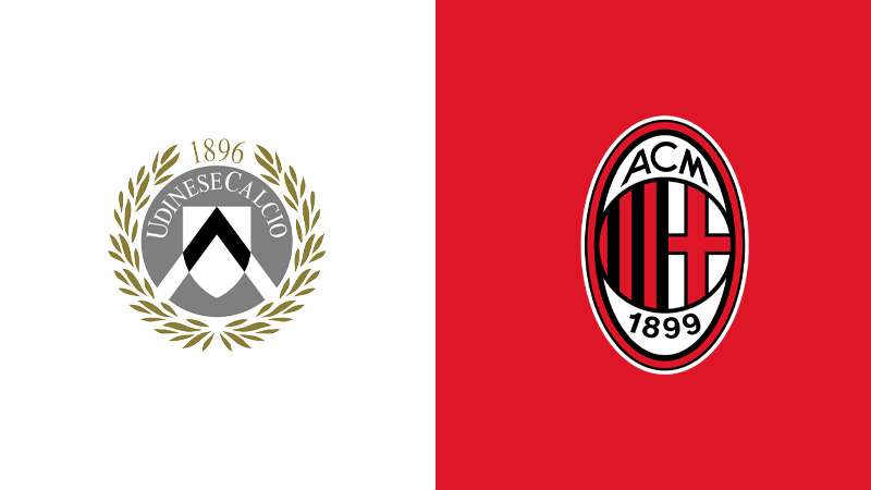 udinese milan serie a diretta tv live streaming