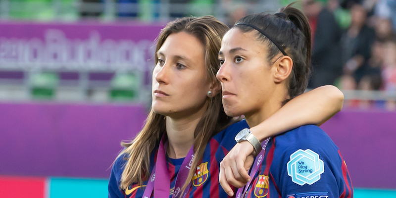 juventus barcellona champions league femminile tv streaming