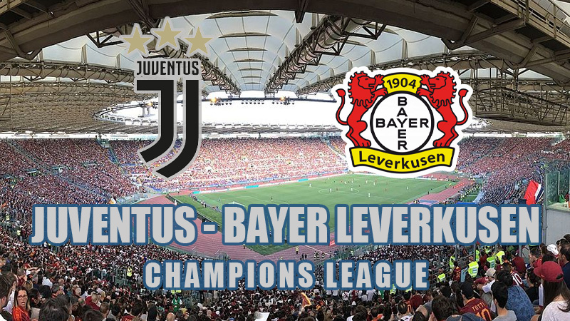 juventus bayer leverkusen live streaming champions league