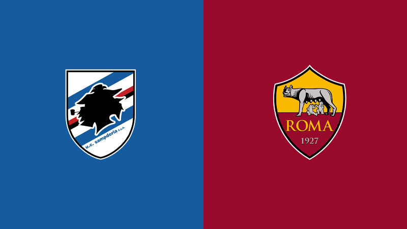 sampdoria roma serie a diretta tv live streaming