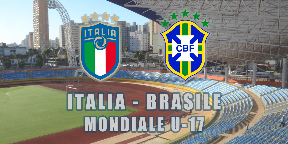 italia brasile under 17 diretta tv streaming