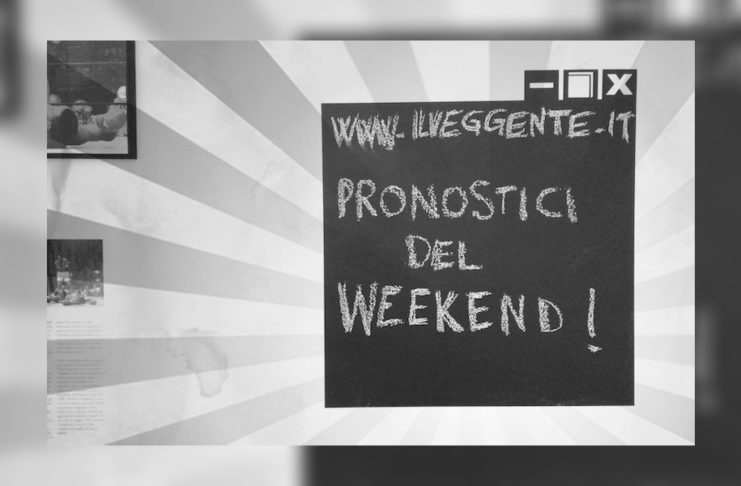 pronostici del weekend