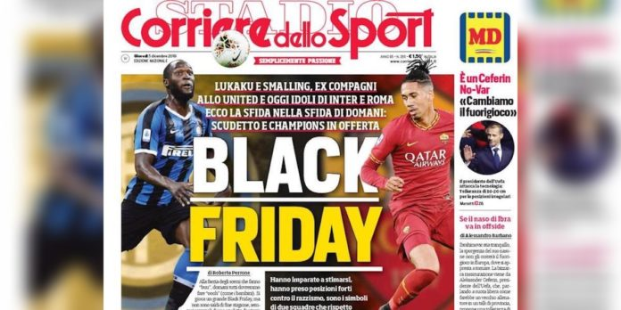 corriere sport black friday