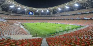 Lo stadio della Città dello Sport Re Abd Allah