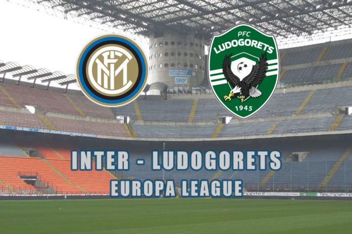 inter europa league ludogorets live streaming gratis