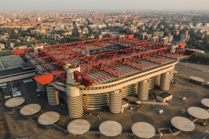 Inter Milan stadio San Siro Giuseppe Meazza