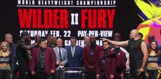 wilder fury 2 live streaming