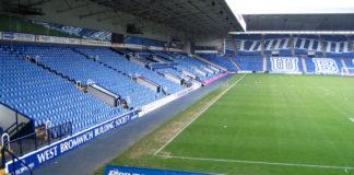 Hawthorns Stadium West Bromwich
