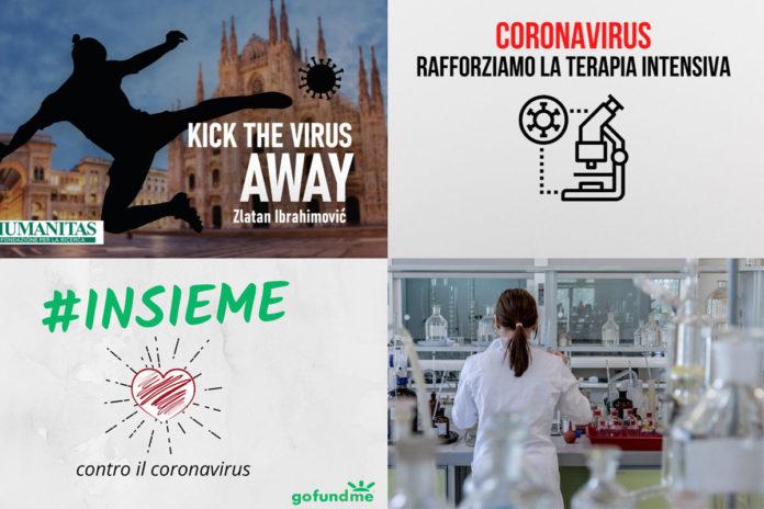 donazioni emergenza coronavirus