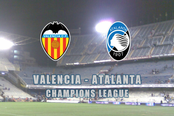 valencia atalanta streaming live champions league