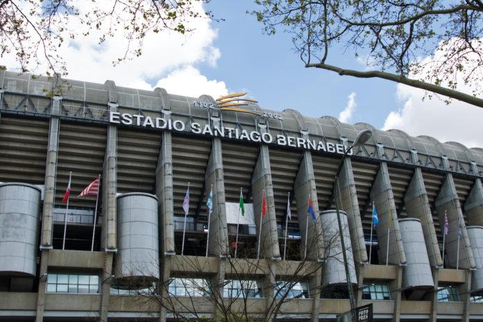 Santiago Bernabeu Real Madrid Liga