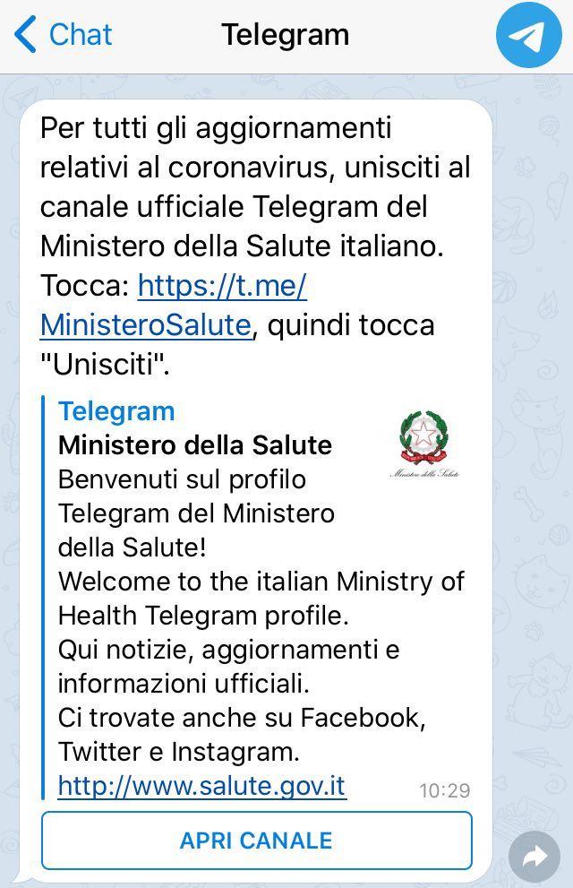 telegram salute