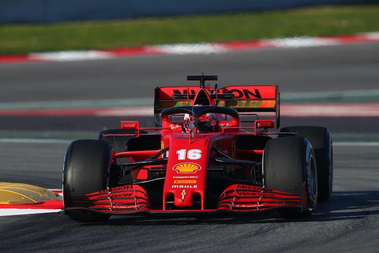 Leclerc formula 1 ferrari