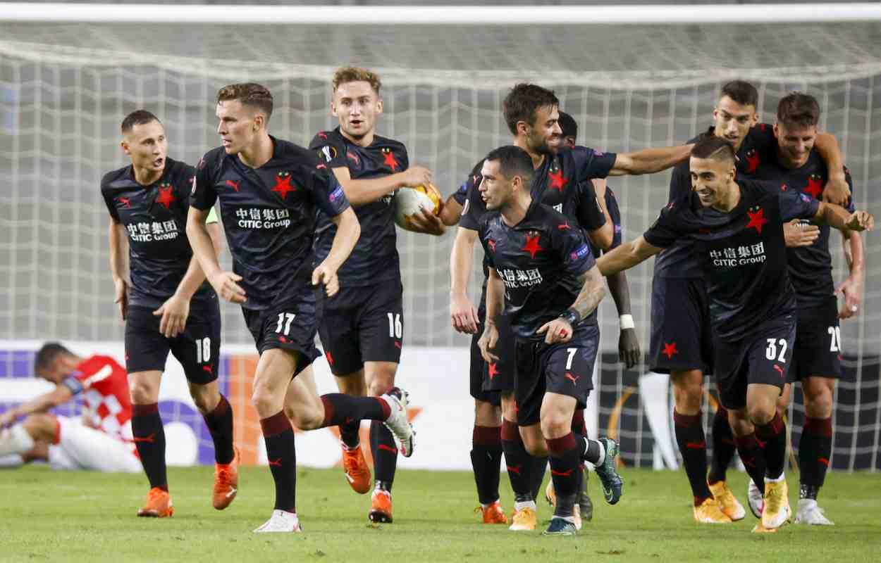 Slavia Praga-Bayer Leverkusen