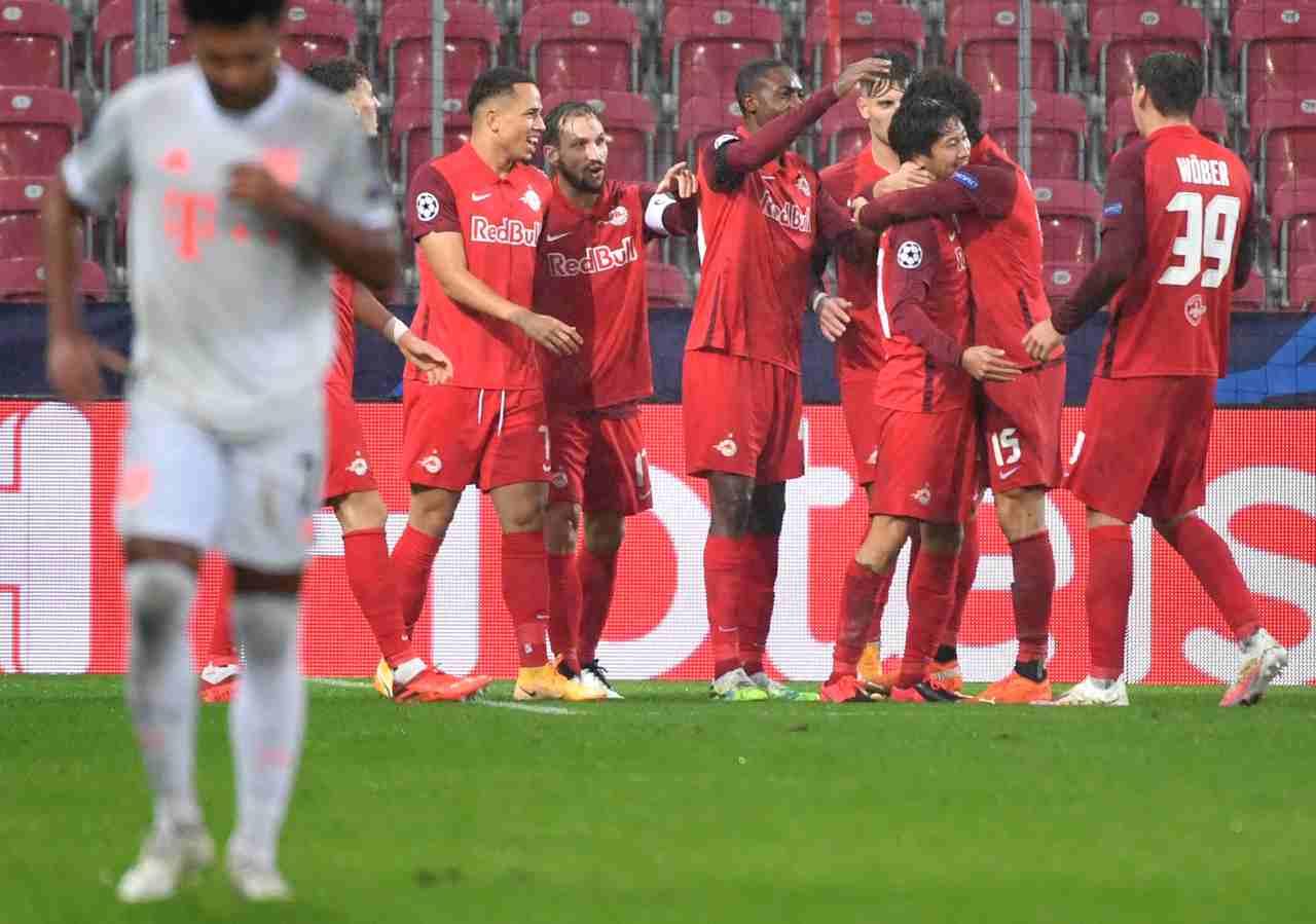 Bayern Monaco-Salisburgo