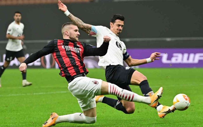 Europa League, Lille-Milan 0-0. LIVE