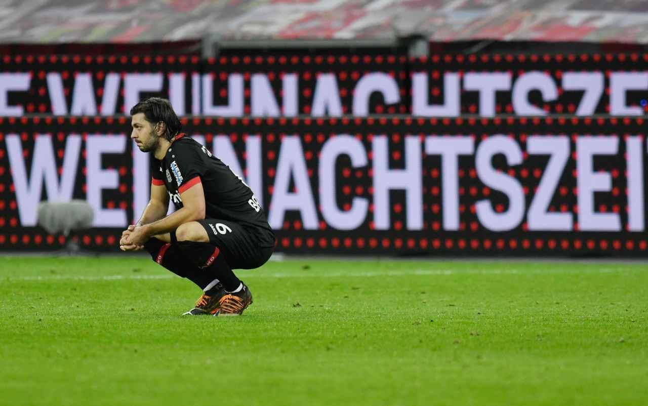 Eintracht Francoforte-Bayer Leverkusen