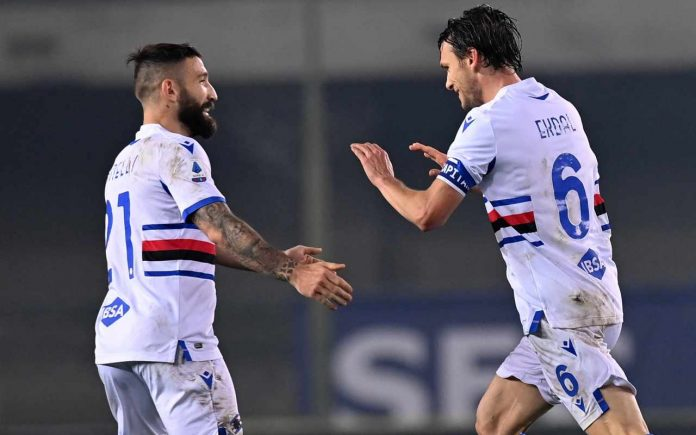 Sampdoria-Crotone 3-1: video, gol e highlights della partita di Serie A
