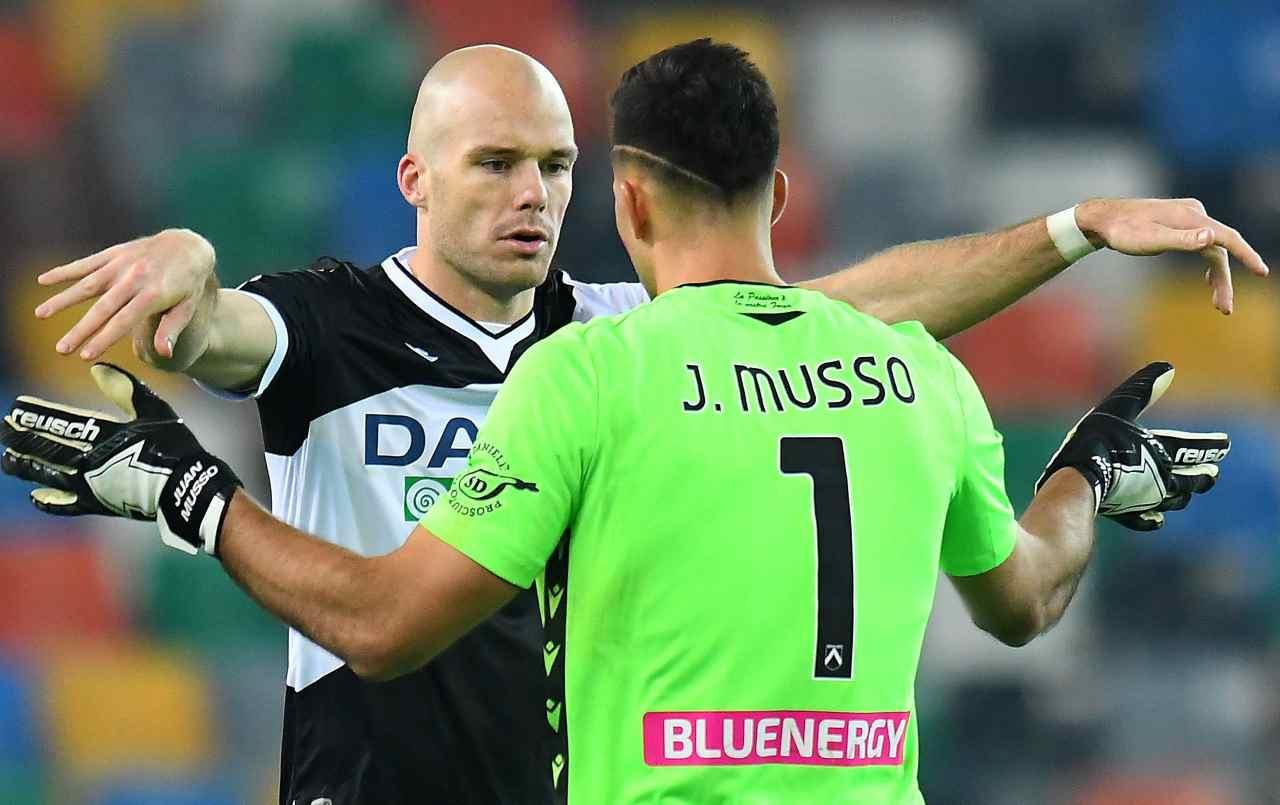 Solo un palo di Deulofeu: Spezia e Udinese vanno all'intervallo sullo 0-0