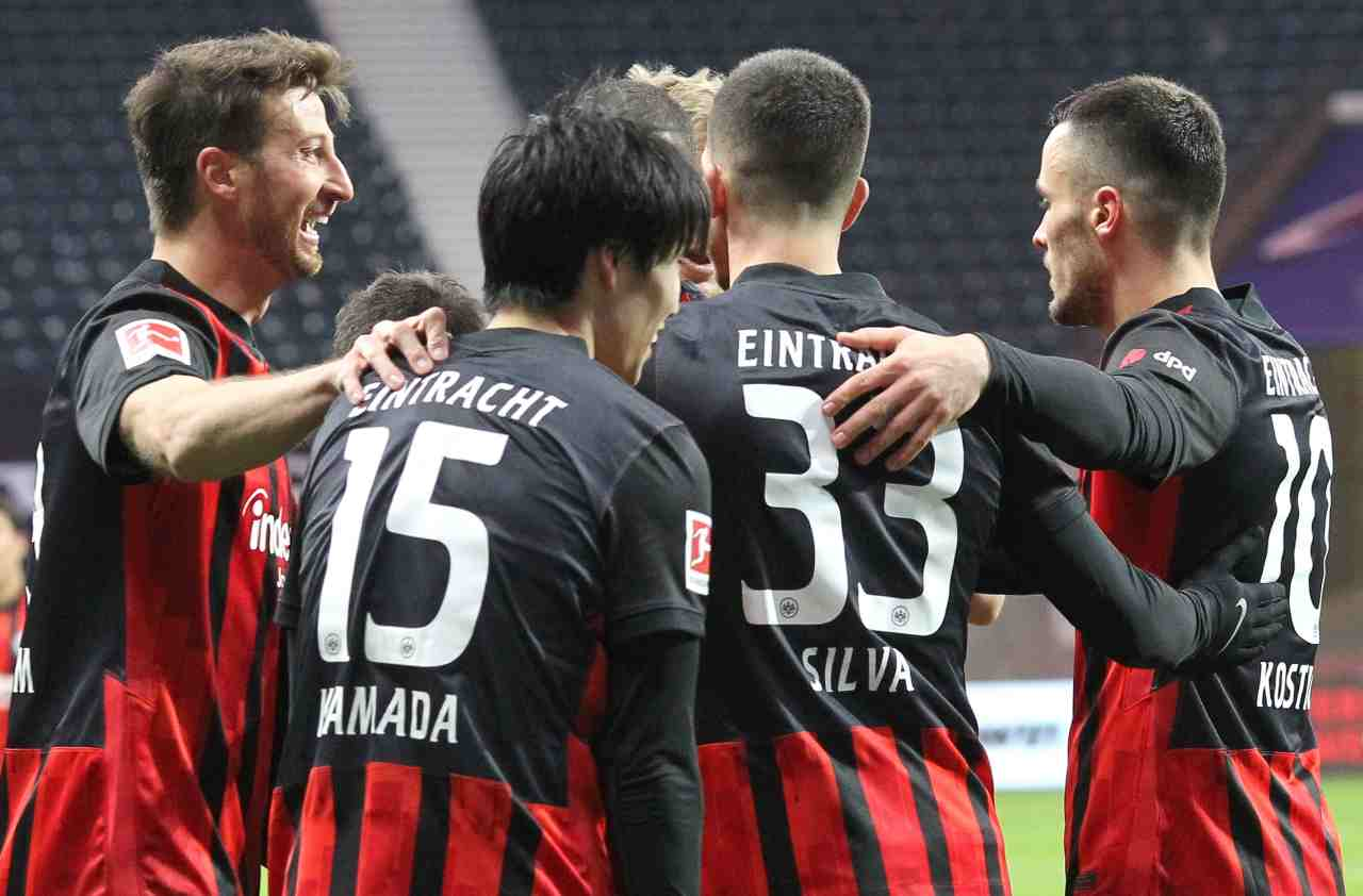 Mainz-Eintracht Francoforte