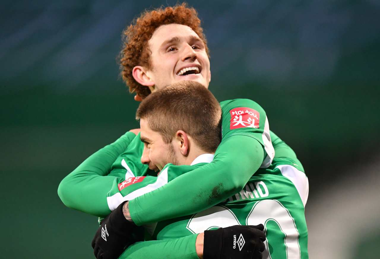 Borussia Moenchengladbach-Werder Brema