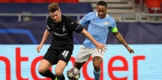 Manchester City-Borussia Monchengladbach