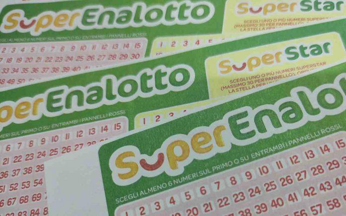 Estrazione Lotto Superenalotto oggi