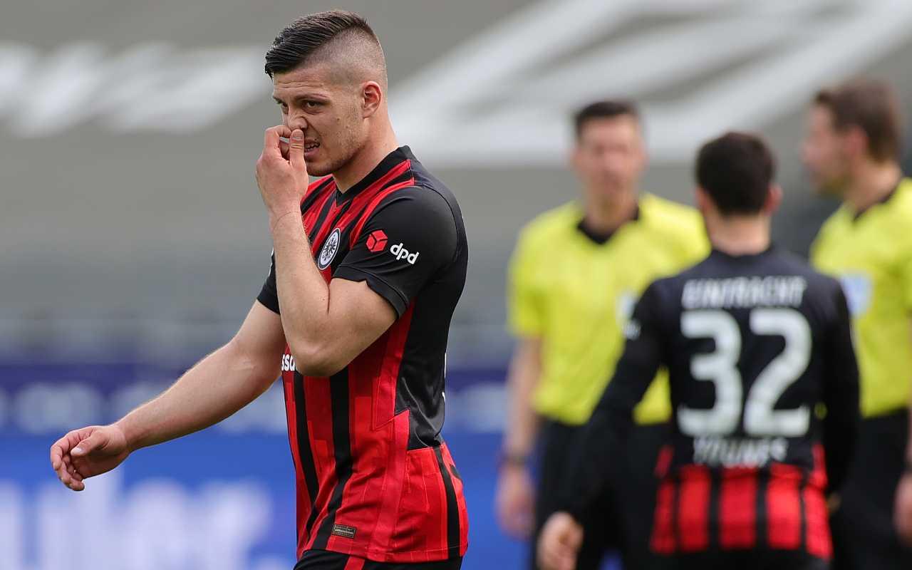 Schalke 04-Eintracht Francoforte